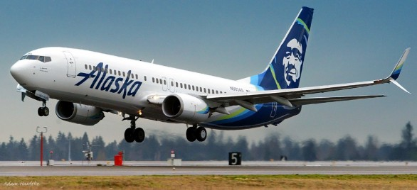 Alaska Airlines adds fourth new East Coast destination from San Diego in four years. Baltimore nonstop service begins in March 2017. (PRNewsFoto/Alaska Airlines)