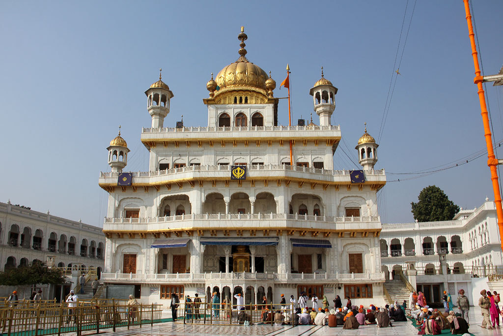 Akal Takhat in Golden Temple Complex